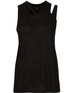 Cut-out Detailed Tank Top