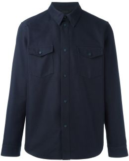 Chest Pocket Shirt Jacket