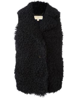Furry Padded Gilet