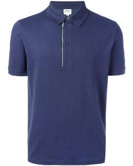 Zip Detail Polo Shirt