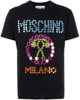 Mirror Embroidered Logo T-shirt