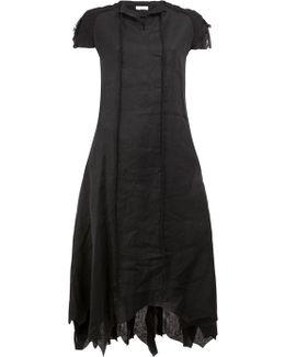Pointy Shortsleeved Dress