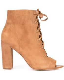 Yvie Suede Ankle Boots