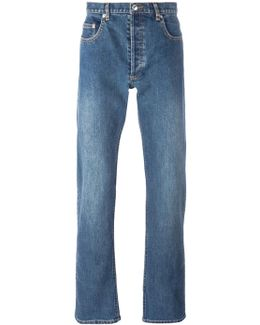Washed Effect Jeans