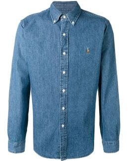 Button-down Denim Shirt