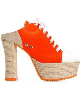 Jute Sole Sneaker Mules