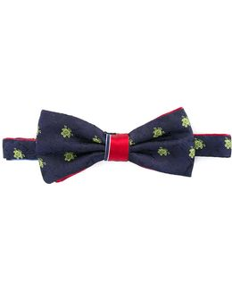 Woven Frog Bow Tie