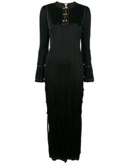 Split Side Long Dress