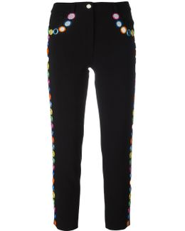Mirror Embellished Trousers