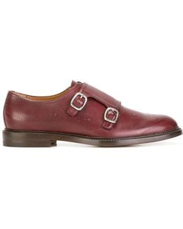 Bee Brogue Monk Shoes