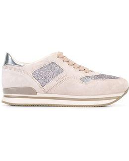 Glitter Panel Sneakers