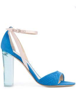 Clear Heel Sandals
