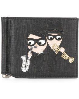 Musical Designer's Patch Cardholder
