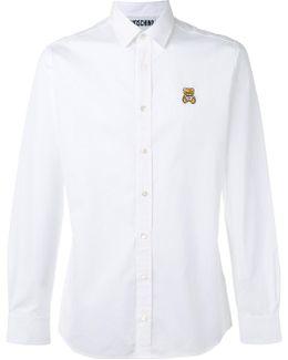 Bear Embroidered Shirt