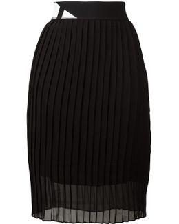 - Pleated Skirt - Women - Polyester - 42