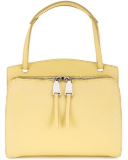 Double Zip Shoulder Bag