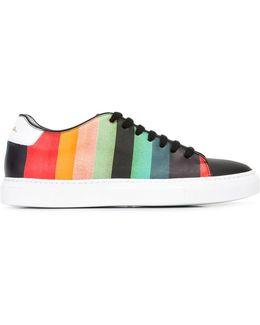 Rainbow Stripe Sneakers