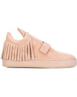 Fringed Sneakers
