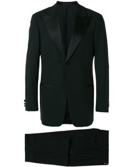 Peaked Lapels Two-piece Suit