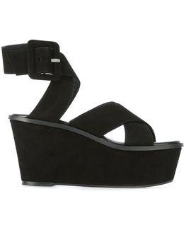 Platform Buckled Sandals