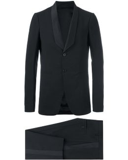 Tusk Tux And Astaire Cropped Trousers Suit