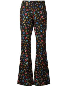 Flower Power Flared Trousers
