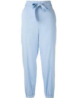 Elasticated Cuffs Trousers