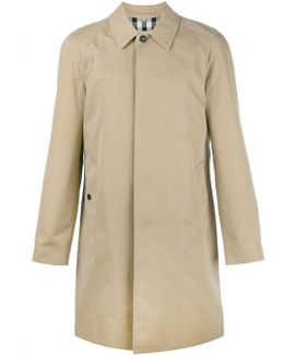 Long Gabardine Car Coat