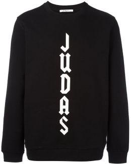Cuban-fit Judas Slogan Sweatshirt