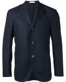 Patch Pockets Blazer