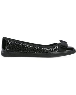 Buckle Bow Ballet Flat