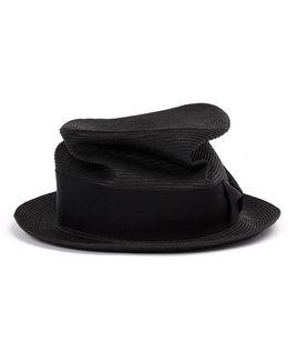 Braid Silk Trilby Hat