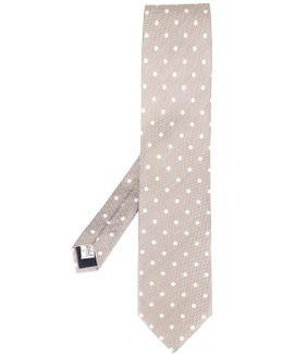 Dots Print Tie