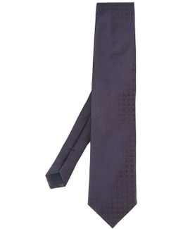 Printed Squares Tie