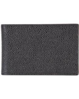 Grained Bi-fold Wallet
