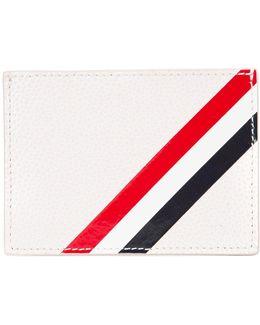 Striped Detail Cardholder