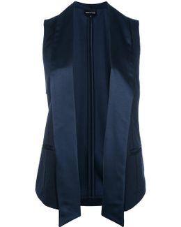 Sleeveless Blazer-inspired Jacket