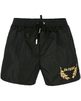 24-7 Star Swim Shorts