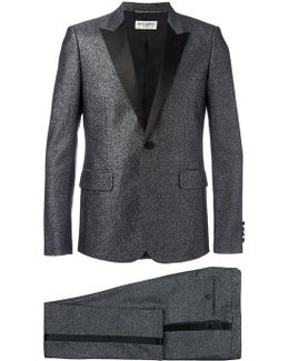 Metallic Peaked Lapel Suit