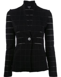 Grid Fitted Jacket