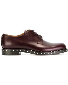 Garavani Rockstud Derby Shoes