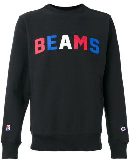 X Beams Print Sweatshirt
