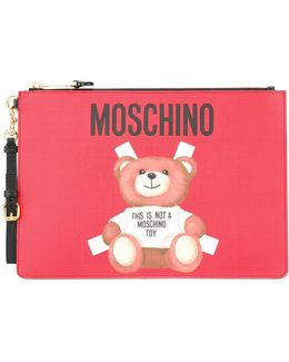 Toy Bear Paper Cut Out Clutch