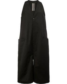 Cropped Sleeveless Jumpsuit