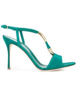 Gold-tone Detail Sandals