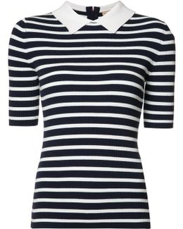 Breton Stripe Collar Top