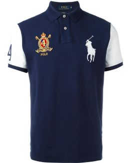 Multi Patched Polo Shirt