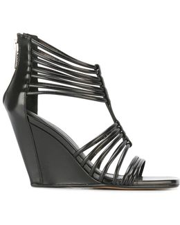 Mignon Wedge Sandals