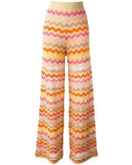 Zig-zag Pattern Trousers