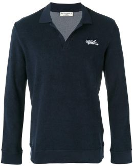 Terry Knit Polo Shirt